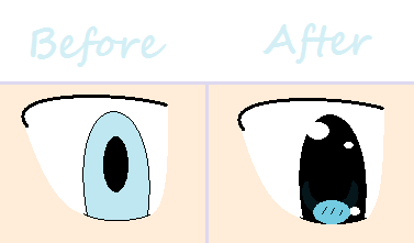Changing the way I draw eyes by Wheeelinthesky