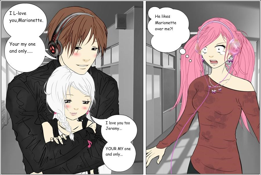 Jeremy and marionette 8 mangle by sarasword on deviantart