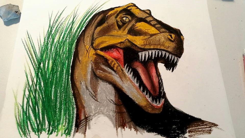 T-Rex by SpyroGirl22