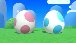 Two Yoshi Eggs