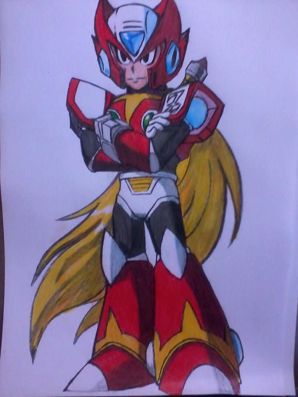 Zero Megaman by ArliissonxD