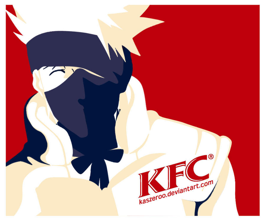 Alyssactndg Keep Calm Eat Fried Chicken: Kakashi's Fried Chicken's KFC By KasZeroo On DeviantArt