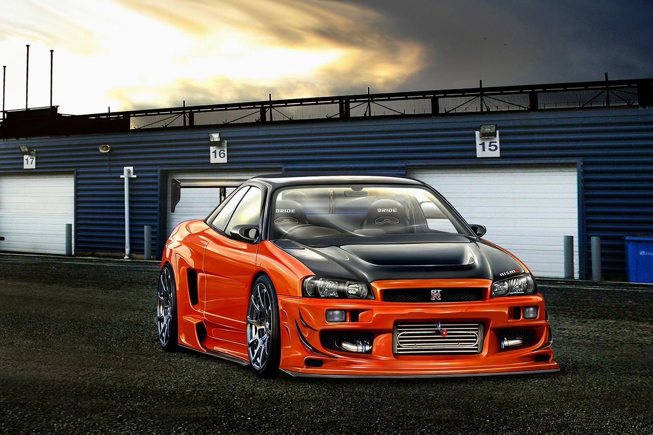 SBDesign Nissan Skyline R34 By SB-Design On DeviantArt