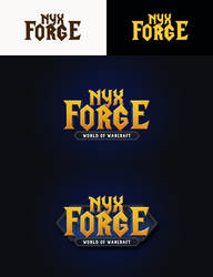 Game logo: Nyx Forge WoW by InovationStudio