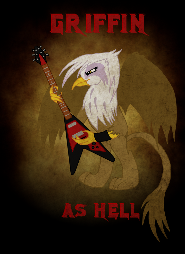 Griffin as Hell by alidor42