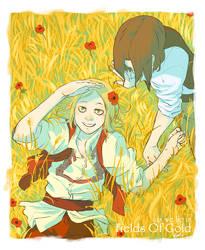 Fields of Gold by KuroSy
