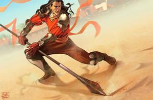 Speardance by KuroSy