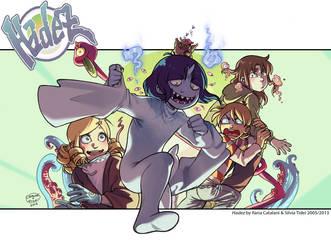 Hadez webcomic by KuroSy