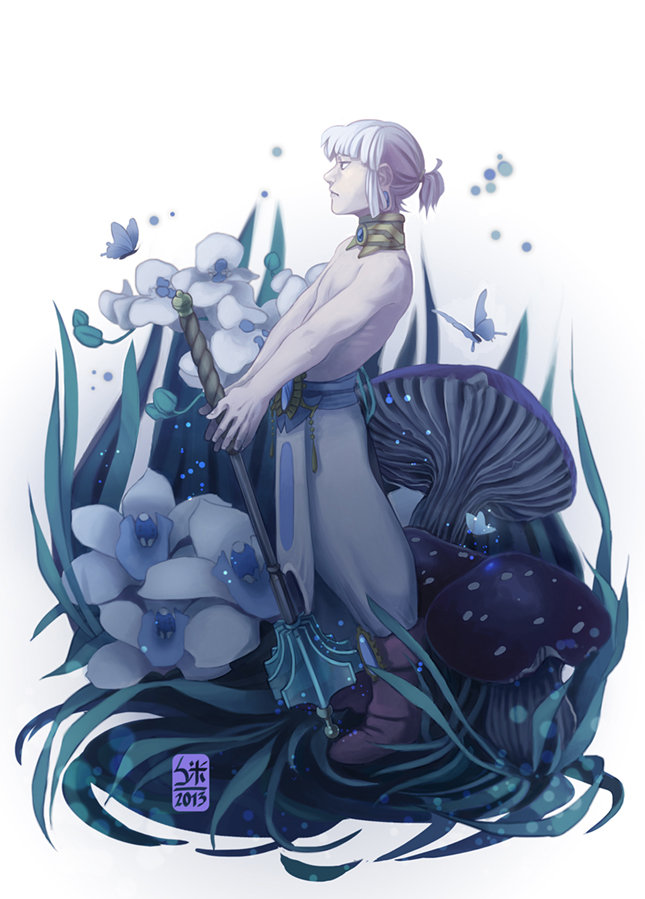 blue light by KuroSy