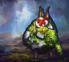 Makar from Zelda: The Wind Waker by Trudsss
