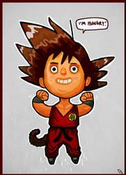 Goku is hungry! by Trudsss