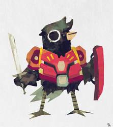 Sir Crow by Trudsss