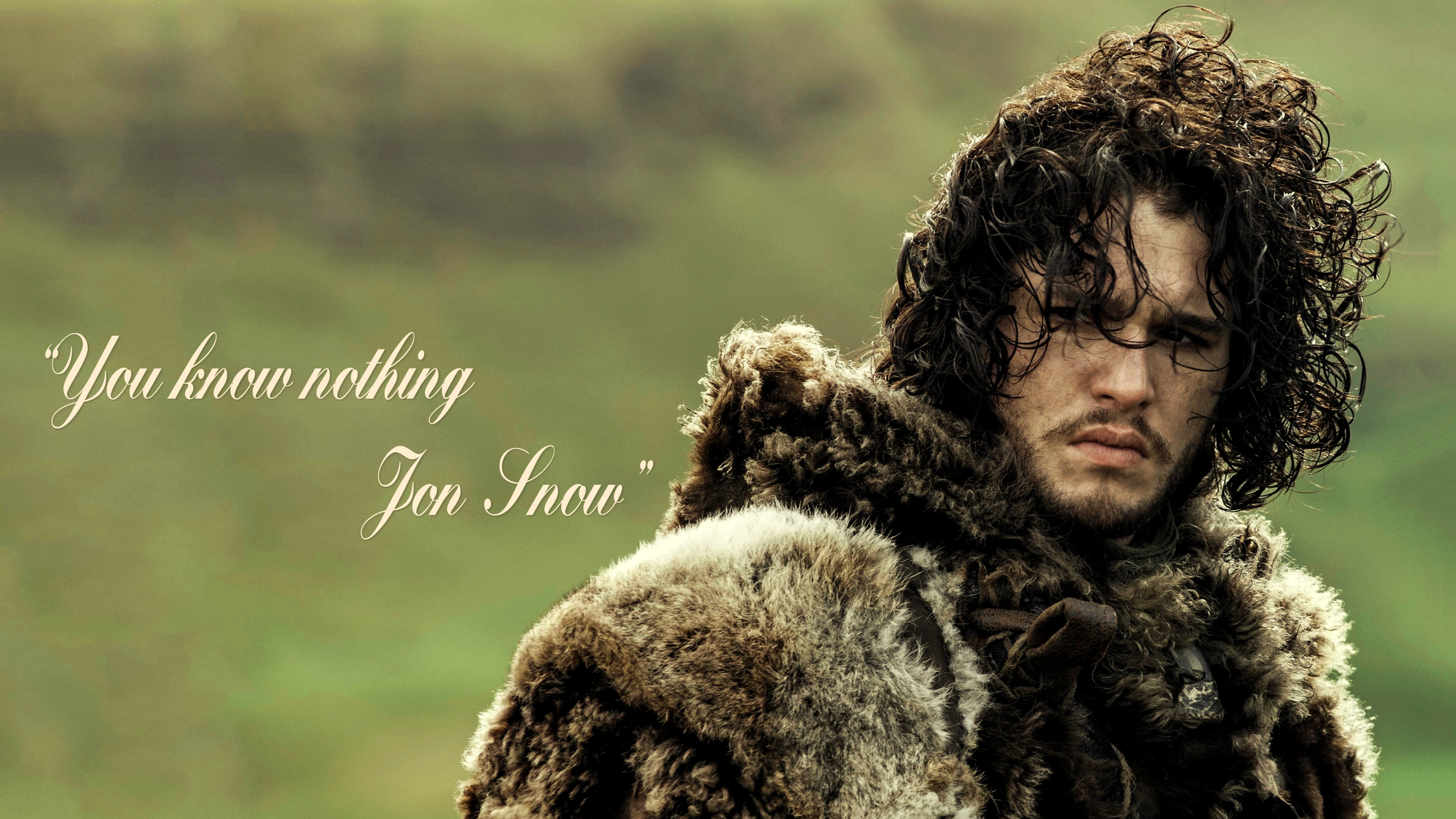 You Know Nothing Jon Snow By Btica33