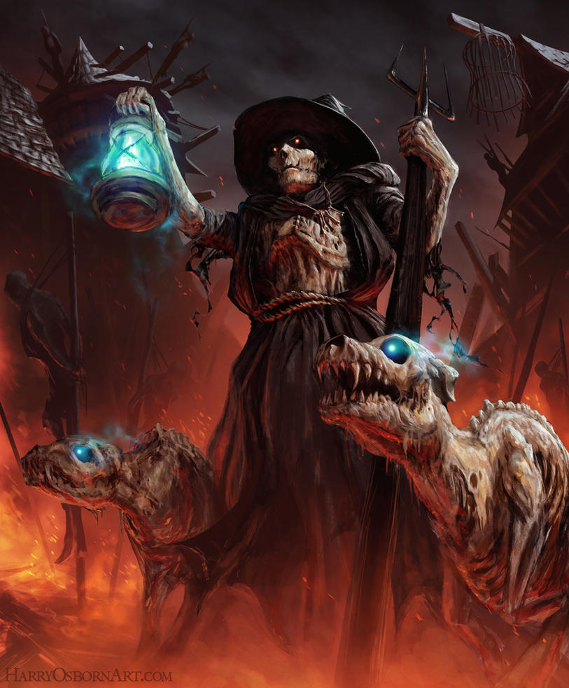 Dark Souls - Grave Warden by HarryOsborn-Art