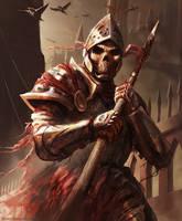 Dark Souls - Knight guy by HarryOsborn-Art