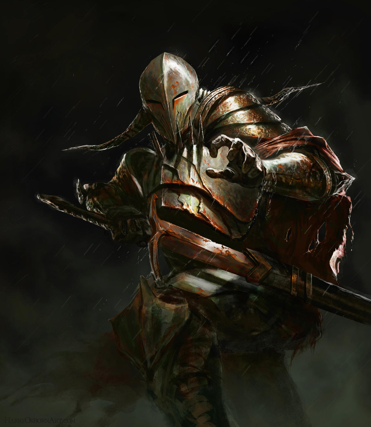 Dark Souls - Lord Tetanus by HarryOsborn-Art