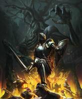 Dark Souls III - Garden trimn' by HarryOsborn-Art