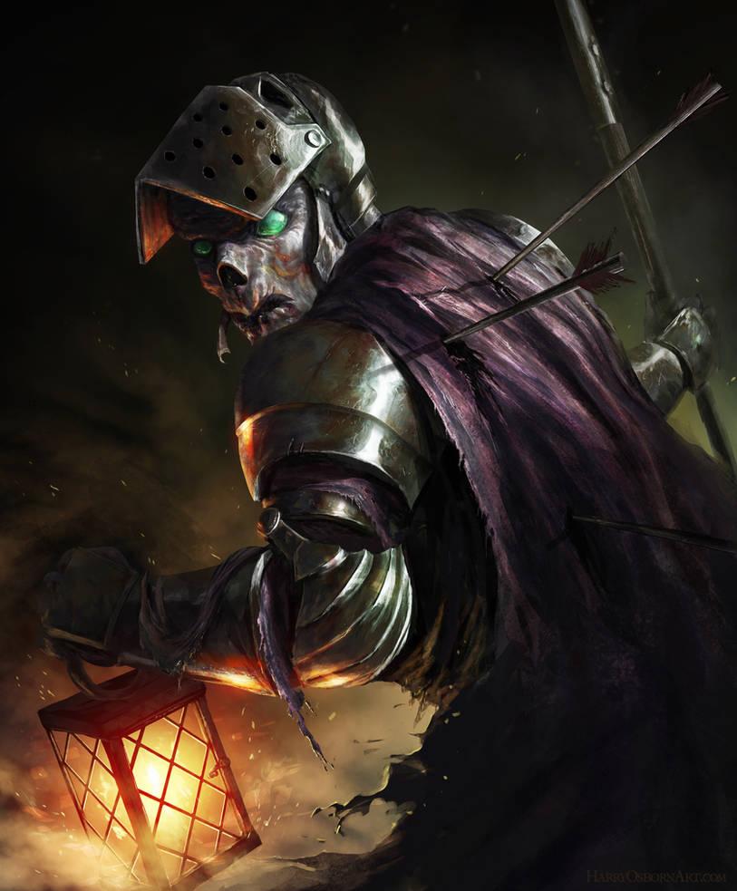 Dark Souls - Night Stalker by HarryOsborn-Art