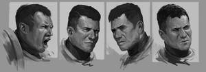 Space Marine Portraits