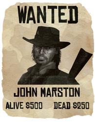 Red Dead Redemption - Wanted