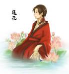 Lotus Flower - China - Hetalia by ShaoranKun