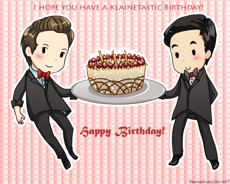 Klaine BDay Card Glee by ShaoranKun on DeviantArt – Glee Birthday Card