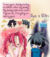 Go x Rin? by ShaoranKun