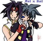 Rei x Kai - 'tugtug' by ShaoranKun
