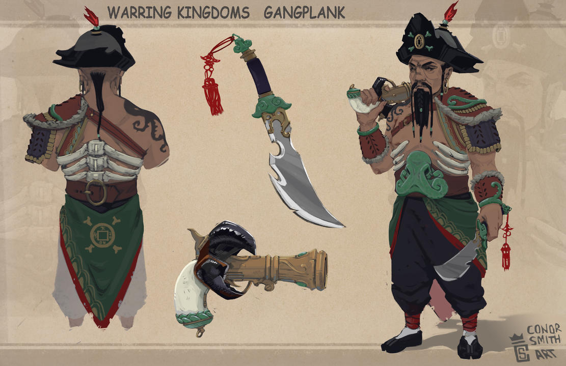 Warring Kingdoms Gangplank by conorsmith12