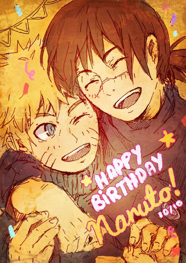 Happy Birthday Naruto by kuridoki