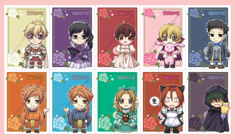 Deviantart coloring clubs - Meru Chan 10 537 1 460 Ouran Host Club Postcards By Kuridoki