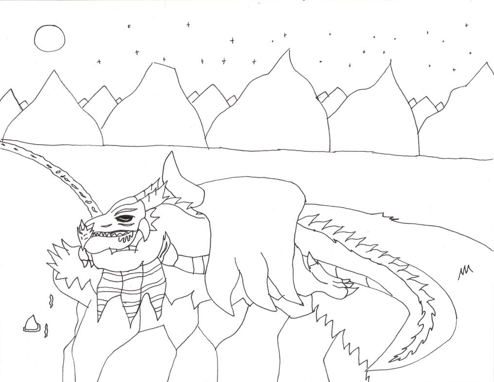 n is for night coloring pages - photo #45