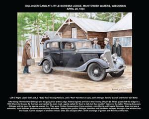 Dillinger gang at Little Bohemia Lodge