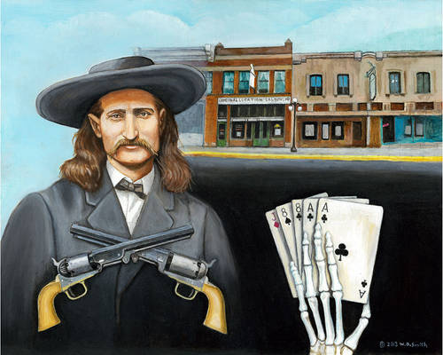Aces and Eights Wild Bill Hickok