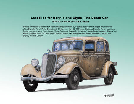 Last Ride for Bonnie and Clyde