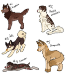 Dessert Doggies 2/3/2014 - 1 LEFT
