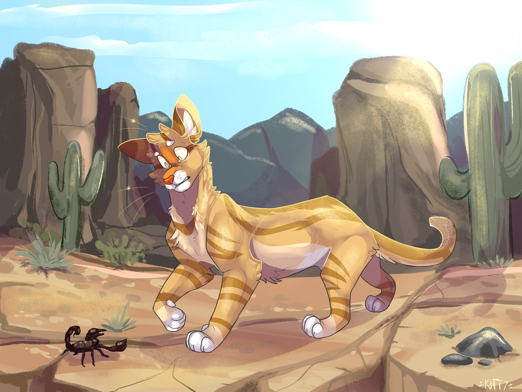 Desert - ArtTrade by WeHaveCandy
