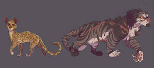 Leopardstar and Tigerstar