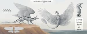 Custom dragon line