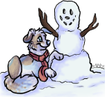 Buildin a Snooowmaan by xWolfPrincex