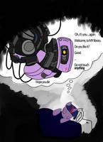 Twilight Sparkle as GLaDOS by SethTurner