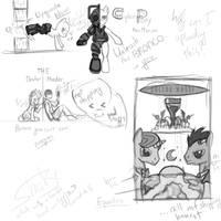 Doctor Whoof Sketches by SethTurner