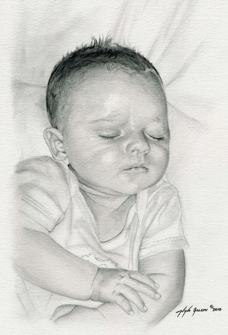 Sleeping Baby by ninagolemi on DeviantArt