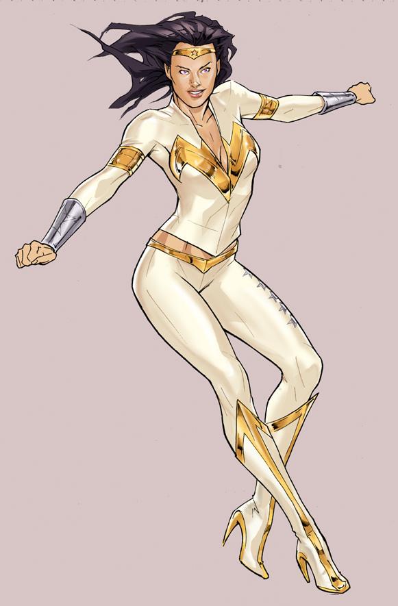 Wonder Woman Redesign by robnix