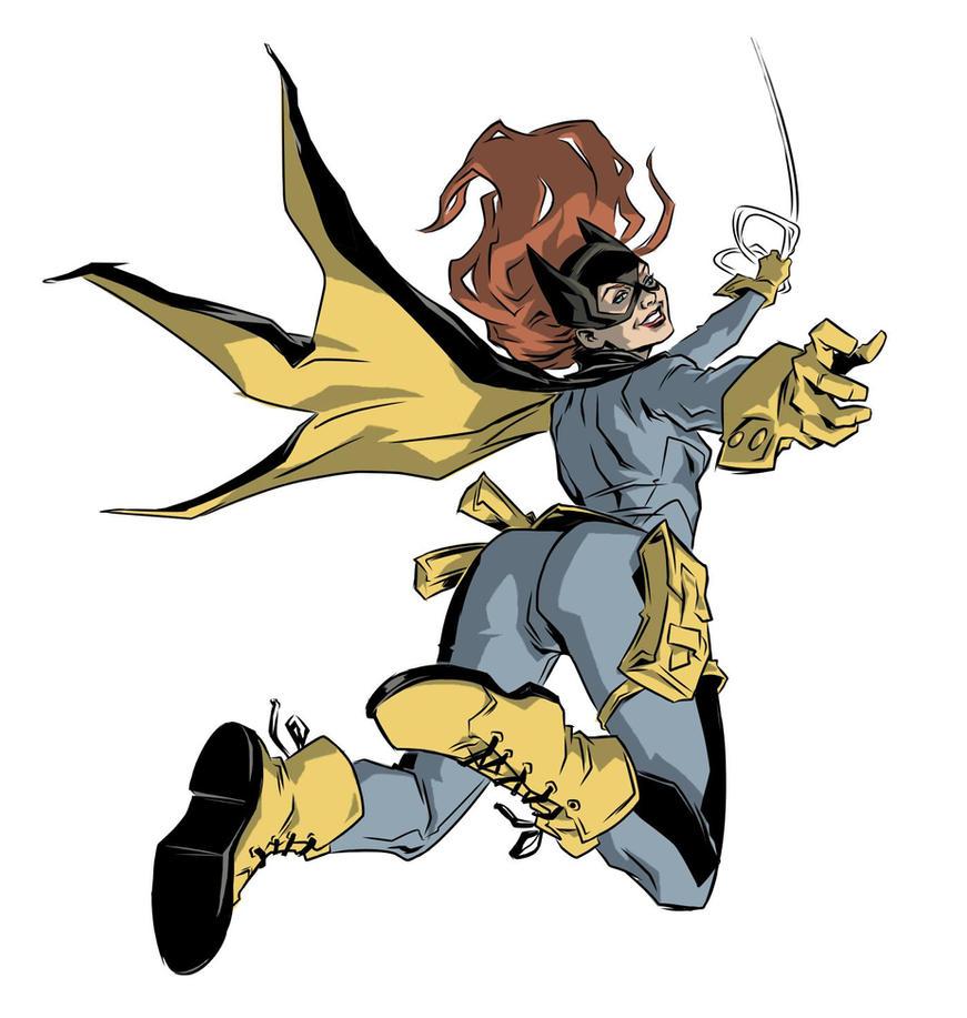 Batgirl Swingin' by robnix