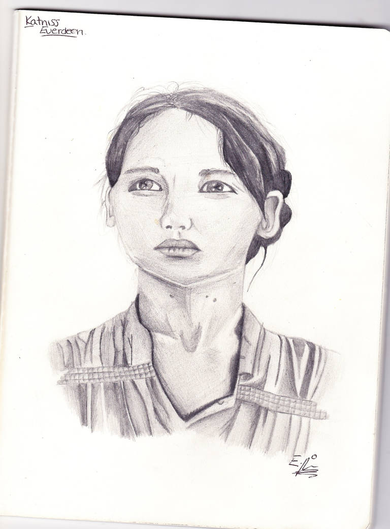 Katniss Everdeen - The girl on fire