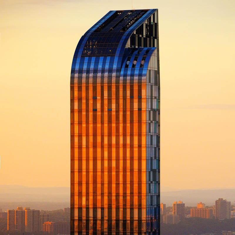 Urban Sunset by CarlosBecerra