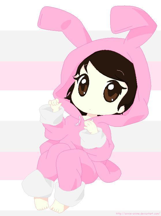 Annie Chibi Bunny By Aya