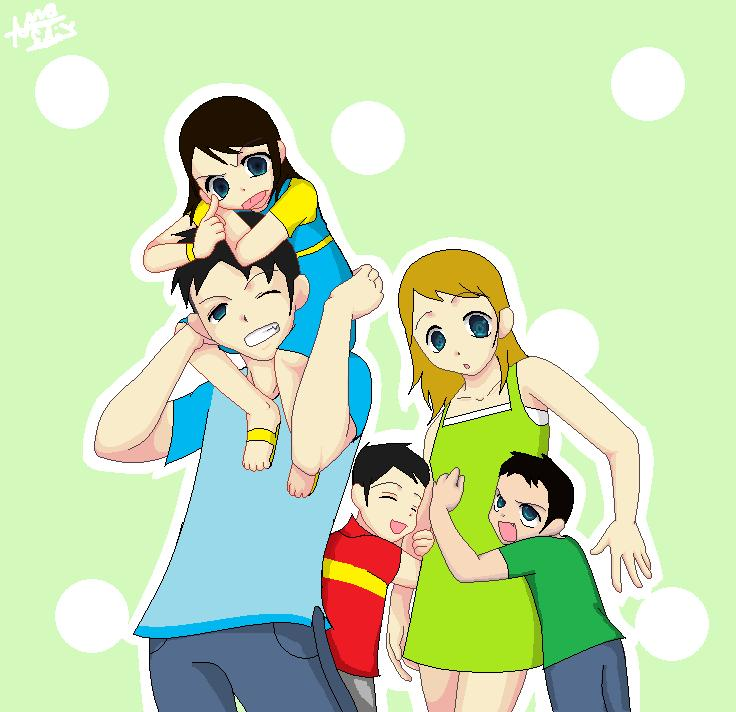 .: My Family :. by Annie-Aya on DeviantArt
