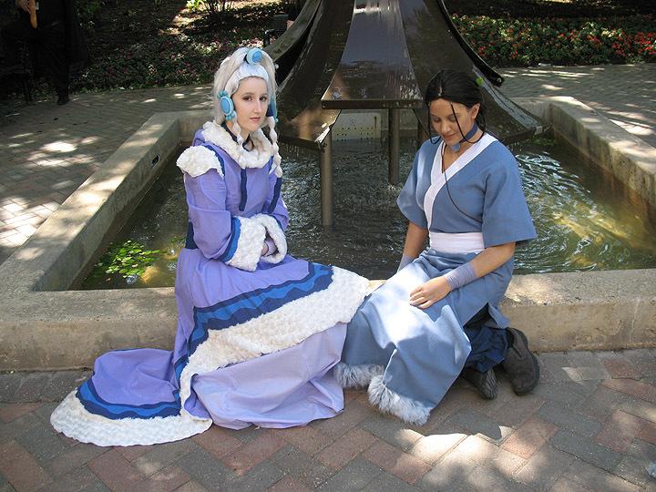 Katara and Princess Yue by Vaysh ...  sc 1 st  DeviantArt & Katara and Princess Yue by Vaysh on DeviantArt